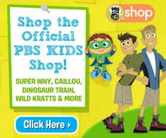 Back To School With PBS KIDS Shop!