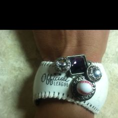 Baseball fun bracelets, take apart the ball and get creative!