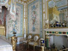 Bedroom in the Yusupov Palace.