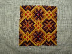 German Brick Stitch - color inspiration.