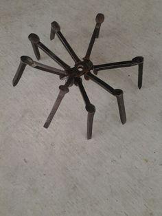 Railroad spike spider