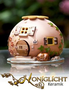 Dufthäuschen mit Hausnummer nach Wunsch  von Honiglicht auf DaWanda.com