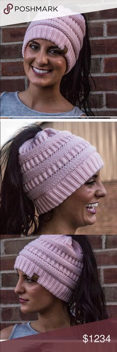 ✨✨ Coming Soon ✨✨ Ponytail Beanies 2017's hottest accessory is the Ponytail Beanie! Limited quantities coming soon, like to get notified when they arrive. Will have various colors. Follow my main closet in the meantime, @joannamichele81. I'm a 6x party host and Posh Advocate! AvaandLala Accessories Hats