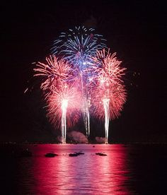 #19.) and the evening always concludes with a big fireworks show over the ocean.  #oklsummer