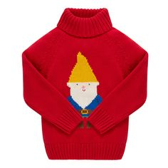 Little Bird by Jools Rainbow Gnome jumper @Mothercare