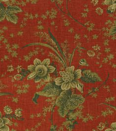 Home Decor Print Fabric-Waverly Stonington Campfire
