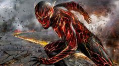 """It's getting hot in here so take off all your clothes... no.. ok I'll leave """"reverse flash"""""""