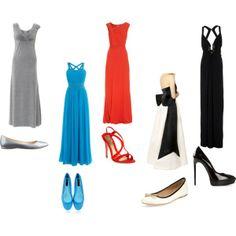 """Divergent Prom""  Gray-Abnegation, Blue-Erudite, Red-Amity, Black and white-Candor, Black-Daultness"