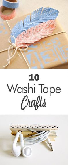 Washi tape, washi tape crafts, DIY crafting, craft hacks, DIY projects, popular pin, homemade crafts.