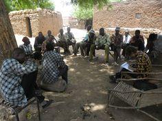 AG avec le groupements de producteurs de fonio du village de Tirakuy (Burkina Faso)