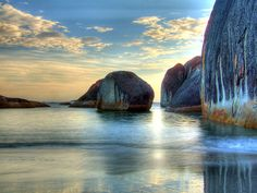This beautiful place is taken at the Elephant Cove, Williams Bay, near Denmark, in Western Australia.