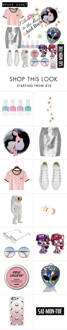 """Space Cadet 🌌🌠"" by vintage12murage ❤ liked on Polyvore featuring Livingly, Yves Saint Laurent, Converse, Seletti, Mminimal, Sunday Somewhere, Disturbia and Casetify"