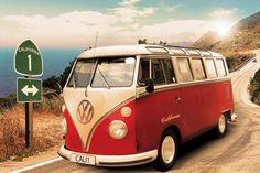 VW Camper - Californian surfer style