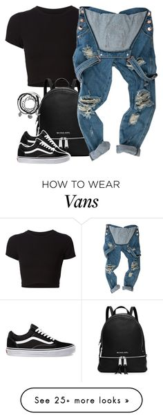 """IV ♡ XXV ♡ MMXVI"" by justice-ellis on Polyvore featuring Getting Back To Square One, MICHAEL Michael Kors and Vans"
