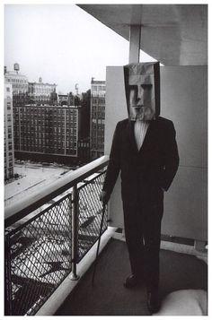 Inge Morath, The Mask Series with Saul Steinberg, 1961-1962