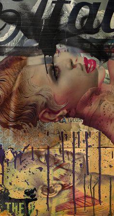 stremplerART — Collage UNTITLED 2014 Waldemar Strempler Tumblr