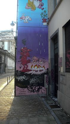 Brussels - Graffiti & Street Art by infomatique, via Flickr