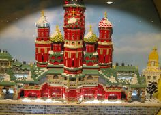 Around the World w/ 35 famous Lego Buildings and Monuments