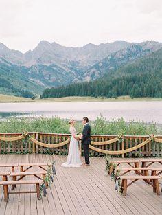 Piney river ranch || Bohemian elegance wedding inspiration