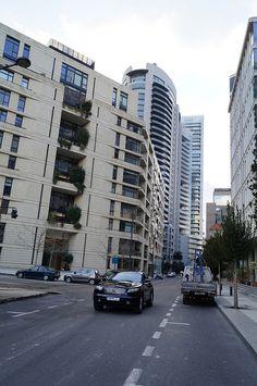 LEBANON, A BEIRUT STREET SCENE