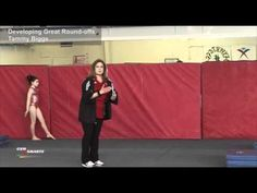 Developing Great Round-offs - Tammy Biggs - YouTube