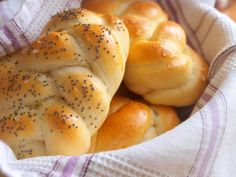 Domácí housky - Avec Plaisir Hot Dog Buns, Biscuits, Food And Drink, Homemade, Baking, Vegetables, Kitchens, Recipes, Food And Drinks