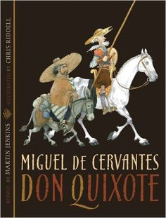 Don Quixote by Miguel de Cervantes. An illustrated and abridged edition of the Cervantes story set in century Spain. A comic tale that is cleverly abridged and brought to life by Chris Riddell& illustrations. Chris Riddell, Dom Quixote, A Comics, Quentin Blake, Mystery Of History, Art Graphique, Children's Literature, Retelling, Children's Book Illustration