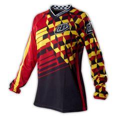Troy Lee - Woman's GP Jersey Red/Black