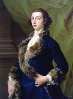 Portrait of Joseph Leeson by Pompeo Batoni (Italian 1708–1787)