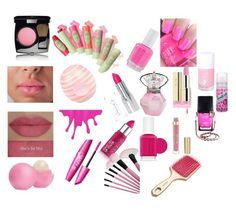 """""""Pink Beauty"""" by lindathechicfashion ❤ liked on Polyvore"""