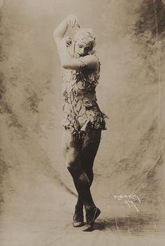 Vaslav Nijinsky en Le spectre de la rose