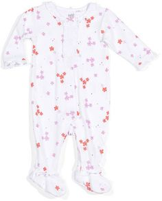Petit Lem Flower Footie Playsuit