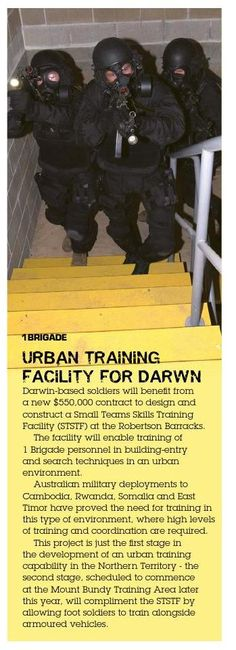 New facilities in Darwin - from CONTACT 02