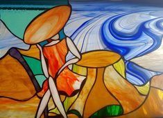 Vitralii decorative Painting, Art, Art Background, Painting Art, Kunst, Paintings, Performing Arts, Painted Canvas, Drawings