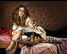 Chess Chess, Mona Lisa, Art Gallery, Wonder Woman, Superhero, Artwork, Photography, Painting, Fictional Characters