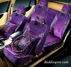 New Arrival Sexy Super Soft Fashion Leapord Comfortable Seat Covers Purple Love, Purple Lilac, All Things Purple, Shades Of Purple, Purple Stuff, Purple City, Purple Unicorn, 50 Shades, Magenta