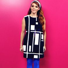 DIY: Make a 60s MOD Halloween Costume! -- not gonna lie, I like this diy for wear anytime. :)