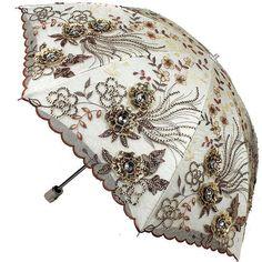 New Women Lady Folding Anti-UV Sun Rain Parasol Elegant Embroidery lace Umbrella Fancy Umbrella, Vintage Umbrella, Umbrella Art, Under My Umbrella, Umbrella Wedding, Cool Umbrellas, Umbrellas Parasols, Umbrella Decorations, Women's Accessories