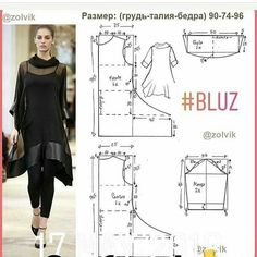 Best Sewing Tips - Sewing Tips for All Sewing Lovers Japanese Sewing Patterns, Dress Sewing Patterns, Sewing Patterns Free, Clothing Patterns, Fashion Sewing, Diy Fashion, Sewing Blouses, Dress Tutorials, Sewing Tutorials