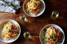 Jaengban Guksu (Korean-style Soba Noodles with Spicy Dressing) recipe on Food52