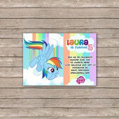 My Little Pony Birthday Invitations /  by BerryliciousDesign, $9.99