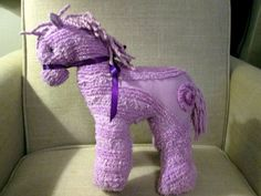 Your place to buy and sell all things handmade Cute Stuffed Animals, Dinosaur Stuffed Animal, Sewing Crafts, Sewing Projects, Chenille Crafts, Pony Horse, Chenille Bedspread, Stuffed Animal Patterns, Fabric