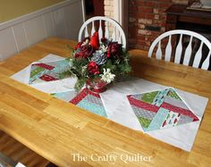 Make something like this with leftovers from tree skirt!