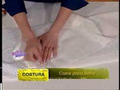 Explica la costura de un CATRE PARA BEBE     Gladis González - Bienvenidas TV - Explica la costura de un Catre para B...