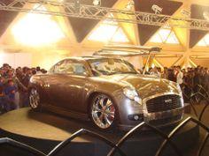 Cool new HM Ambassador - Delhi Auto Expo 2012 .Tags: hm ambassador, delhi auto expo 2012, ambassador car converted, converted ambassador.
