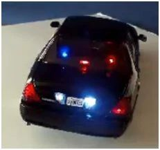 Great Addition To Your Next Custom Cruiser! 4 Tone Siren For Model Police Cars
