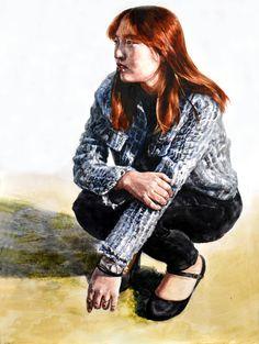watercolor painting - artist Hoehwarang(회화랑), South Korea #수채화 #인체수채화 #인물화 #인체 #회화랑 #회화랑미술학원 #회화 #미술 #academy #watercolor #Hoehwarang #painting