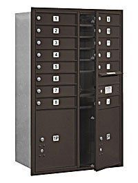 4C Horizontal Mailbox (Includes Master Commercial Locks) - 13 Door High Unit (48 Inches) - Double Column - 14 MB1 Doors / 2 PL5's - Bronze - Front Loading - Private Access by Salsbury Industries. $954.31. 4C Horizontal Mailbox (Includes Master Commercial Locks) - 13 Door High Unit (48 Inches) - Double Column - 14 MB1 Doors / 2 PL5's - Bronze - Front Loading - Private Access - Salsbury Industries - 820996412188. Save 26%!