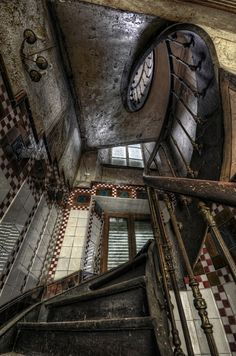 Abandoned maison Heinen in Luxembourg