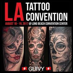 #guivy #tattoo #losangeles #tattooconvention #artforsinners #geneve #geneva #switzerland #tatouage La Tattoo, Geneva Switzerland, Road Trip, Photo And Video, Tattoos, Instagram, Tattoo Studio, Tatuajes, Road Trips